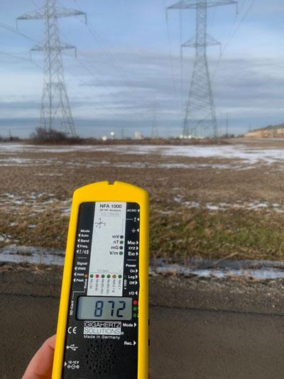 EMF Testing Ontario